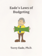 Eade's Laws of Budgeting