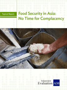 Food Security in Asia: No Time for Complacency
