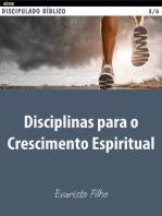 Disciplinas para o crescimento espiritual