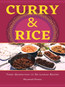 Curry & Rice Three Generations of Sri Lankan Recipes