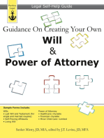 Guidance On Creating Your Own Will & Power of Attorney