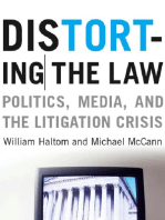 Distorting the Law