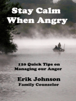 Stay Calm When Angry