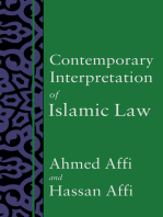 Contemporary Interpretation of Islamic Law
