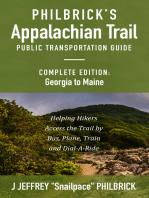 Philbrick's Appalachian Trail Public Transportation Guide, Complete Edition