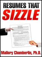 Resumes That Sizzle