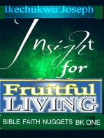 Insight for Fruitful Living