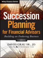 Succession Planning for Financial Advisors