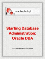 Starting Database Administration