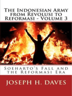 The Indonesian Army from Revolusi to Reformasi: Volume 3: Soeharto's Fall and the Reformasi Era
