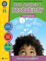 Data Analysis & Probability - Task Sheets Gr. 3-5