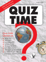 Quiz Time: Over 1100 Quizzes