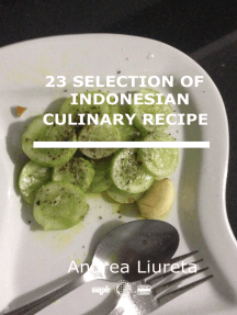 23 Selection of Indonesian Culinary Recipe