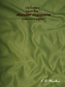 CD Grimes book five: Murder Happens Collector's edition