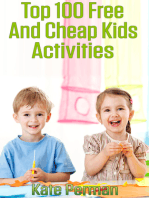 Top 100 Free and Cheap Kids Activities!