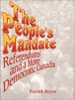 The People's Mandate