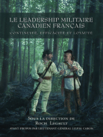 Le leadership militaire canadien francais