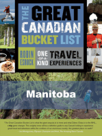 The Great Canadian Bucket List — Manitoba