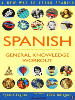 Spanish: General Knowledge Workout #3: SPANISH - GENERAL KNOWLEDGE WORKOUT, #3