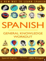 Spanish: General Knowledge Workout #5: SPANISH - GENERAL KNOWLEDGE WORKOUT, #5
