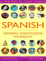 Spanish: General Knowledge Workout #4: SPANISH - GENERAL KNOWLEDGE WORKOUT, #4