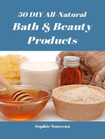 50 DIY All-Natural Bath & Beauty Products