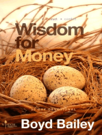 Wisdom for Money