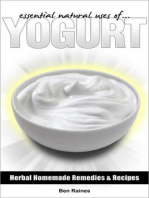 Essential Natural Uses Of....YOGURT