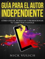 Guía para el autor independiente
