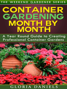Container Gardening Month by Month