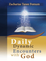 Daily Dynamic Encounters With God