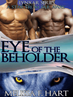 Eye of the Beholder (Lynxar Series - A Star from Far Away, Book 14) (Superhero Romance - Werewolf Romance)