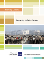 Supporting Inclusive Growth