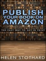 Publish Your Book On Amazon