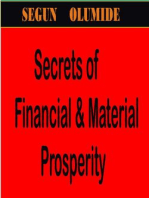 The Secrets of Financial & Material Prosperity