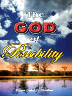 The God of Possibility