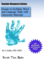 Groups to Facilitate Motor and Language Skills with Classroom Materials