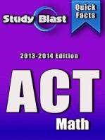 Study Blast ACT Math Prep