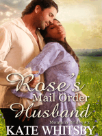Rose's Mail Order Husband - (Montana Brides #3)