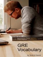 GRE Vocabulary