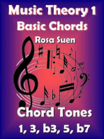 Music Theory - Basic Chords - Chord Tones 1, 3, b3, 5, b7: Learn Piano With Rosa