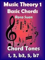 Music Theory - Basic Chords - Chord Tones 1, 3, b3, 5, b7