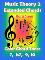 Music Theory 2 - Extended Chords - Color Chord Tones - 7, b7, 9, 10