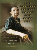 The Poetess Counts to 100 and Bows Out: Selected Poems by Ana Enriqueta Terán