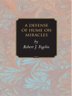 A Defense of Hume on Miracles