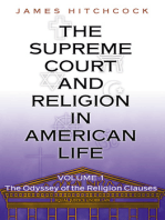 The Supreme Court and Religion in American Life, Vol. 1