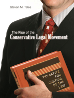 The Rise of the Conservative Legal Movement