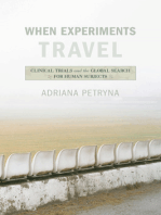 When Experiments Travel