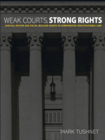 Weak Courts, Strong Rights