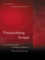 Provincializing Europe